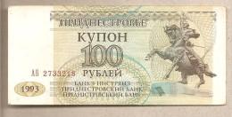 Transnistria - Banconota Circolata Da 100 Rubli - 1994 - Moldavia