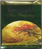 TEA BAG  (FULL) SACHET DE THÉ GREENFIELD FINE DARJEELING - Unclassified