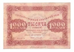 Russia // 1923 1000 Rubles - Russia