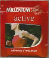 TEA BAG  (FULL) SACHET DE THÉ MILLENIUM ACTIVE - Unclassified