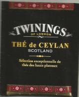 TEA BAG  (FULL) SACHET DE THÉ De CEYLAN - Capsules