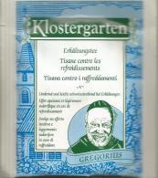 TEA BAG  (FULL) SACHET DE THÉ  KLOSTERGARTEN - Unclassified