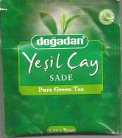 TEA BAG  (FULL) SACHET DE THÉ PURE GREEN - Unclassified