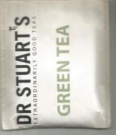 TEA BAG  (FULL) SACHET DE THÉ DR STUARTS GREEN TEA - Unclassified