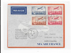 LETTRE POSTE AERIENNE - Postmark Collection (Covers)