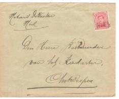 TP 138 S/L.c. Fortune Griffe Niel Anvers V.Antwerpen PR3288 - Postmark Collection