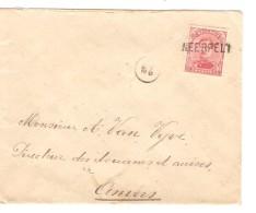TP 138 S/L.c. Fortune Griffe Neerpelt V.Antwerpen PR3289 - Postmark Collection