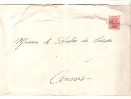 TP 138 S/L.c. Fortune Griffe Berlaer (Lier)Anvers V.Antwerpen PR3290 - Postmark Collection