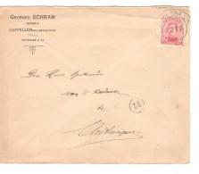 TP 138 S/L.c. Fortune Cappellen 1919  Anvers V.Antwerpen PR3292 - Postmark Collection