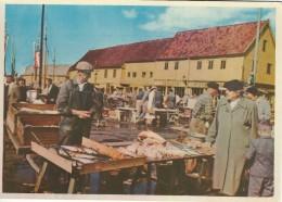 Norway  Bergen. Fisketorget. Fishmongers   # 03355 - Markets