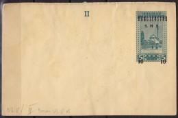 1918 1919 Bosnia Yugoslavia SHS Overprint - STATIONERY - POSTCARD - MNH - Bosnie-Herzegovine