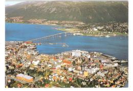 Norge - Norway - Tromsö - Sentrum Av Byen Med Broen Over Tromsöysundet - Norwegen