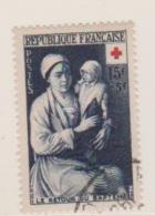 Croix Rouge / N 967 / 15 Francs + 5 Francs Bleu / Oblitéré / Côte 12 € - France