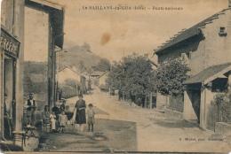 38 - LE SAILLANS-DU-GUA - Isère - Route Nationale - Grenoble