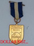 .medal - Medaille - W.S.V - P.P.I Baarn 1963 - Netherland