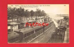 PARIS  La Gare Du Champ De Mars ...  ( Train ...) - Stations, Underground