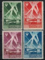 JUGOSLAWIEN 1938 - MiNr: 354-357 Komplett  * / MH - 1931-1941 Königreich Jugoslawien