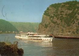 M. S  Berlin An Der Loreley - Barche