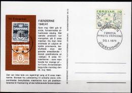 FÄRÖER 1975 - Phil. Briefkarte Nr: 10 - Färöer Inseln