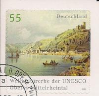2006Allem. Fed. Deutschland  Mi. 2537 Used    Oberes Mittelrheintal - Gebraucht