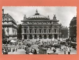 75  PARIS OPERA  CPSM  Année  1950  Trés Animée  EDIT  ESTEL - Frankrijk