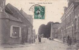 CARTE POSTALE  VINEUIL 41   Grande Rue Et Mairie - Autres Communes