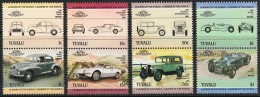 TUVALU Automobiles, Voitures, Cars, Coches, Yvert N°279/86 ** Mnh - Coches