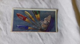 SPACE SCI-FI - 1959 UK - SAILING INTO SPACE - BARRATT CARDS  # 28 - MULTI ROCKET SHIP - Chromo