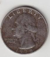 @Y@  USA   1/4 Dollar  Quarter   1978     (2999) - Émissions Fédérales
