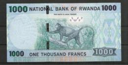 RWANDA.  1000 Francs Rwandais, Billet Bon état - Rwanda