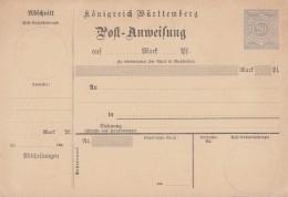 Württemberg Postanweisung Minr.A26/02 Postfrisch - Wuerttemberg
