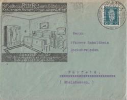 DR Werbebrief Kreuznach EF Minr.368 SST Kreuznach 24.1.25 - Cartas