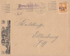 DR Brief Mit Zudruck Postkutsche EF Minr.120 München 24.8.20 - Briefe U. Dokumente