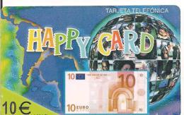 PREPAGO HAPPY CARD BILLETE 10E - Sin Clasificación