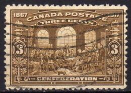 KANADA 1917 - MiNr: 104  Used - 1911-1935 Règne De George V