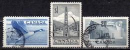 KANADA 1952 - MiNr: 274-276 Komplett Used - 1937-1952 George VI