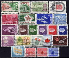 KANADA 1960-1964 - Lot 23 Verschiedene Used - 1952-.... Elizabeth II