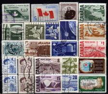 KANADA 1965-1969 - Lot 23 Verschiedene Used - 1952-.... Elizabeth II