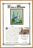 Feuillet Tirage Limité 400 Exemplaires 1663 Collégiale St-Ursmer à Lobbes - Feuillets