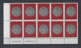 MAROC . YT  807  Neuf **  Anciennes Monnaies Marocaines   1978 - Marruecos (1956-...)