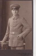 CDV Foto Deutscher Soldat - Atelier Lichtenberg, Osnabrück - Ca. 1910 (24268) - Krieg, Militär