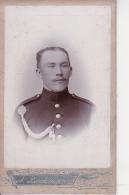 CDV Foto Deutscher Soldat - Atelier Bockmann, Strassburg - Ca. 1910 (24271) - Krieg, Militär