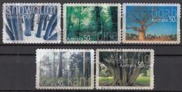 2417 Australia 2005 Native TREES Alberi Used Serie Completa Full Set - Vegetazione