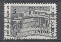 Canada 1964, Scott #431 Fathers Of Confederation Memorial, Charlottetown (U) - 1952-.... Règne D'Elizabeth II