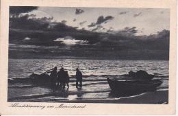 AK Abendstimmung Am Meeresstrand - Pillau - 1938 (24280) - Ostpreussen