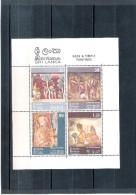 Sri Lanka - BL.3 - Rock & Temple Paintings - XX/MNH - Sri Lanka (Ceylan) (1948-...)