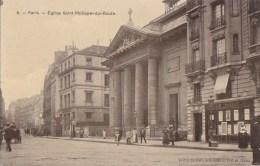 PARIS VIII  Faubourg SAINT HONORE Avant Percée De La Rue De COURCELLES EGLISE St Philippe Du Roule BANQUE CL Agence S - Arrondissement: 08