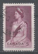 Canada 1964, Scott #433 Queen Elizabeth II (U) - 1952-.... Règne D'Elizabeth II