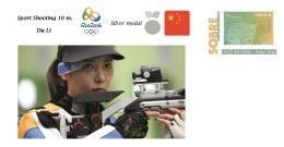 Spain 2016 - Summer Olympic Games Rio 2016 -  Silver Medal Sport Shooting 10 M. Cover - Tenis De Mesa