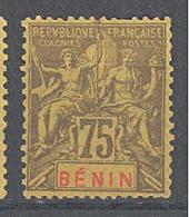 Bénin: Yvert N°44 * - Bénin (1892-1894)